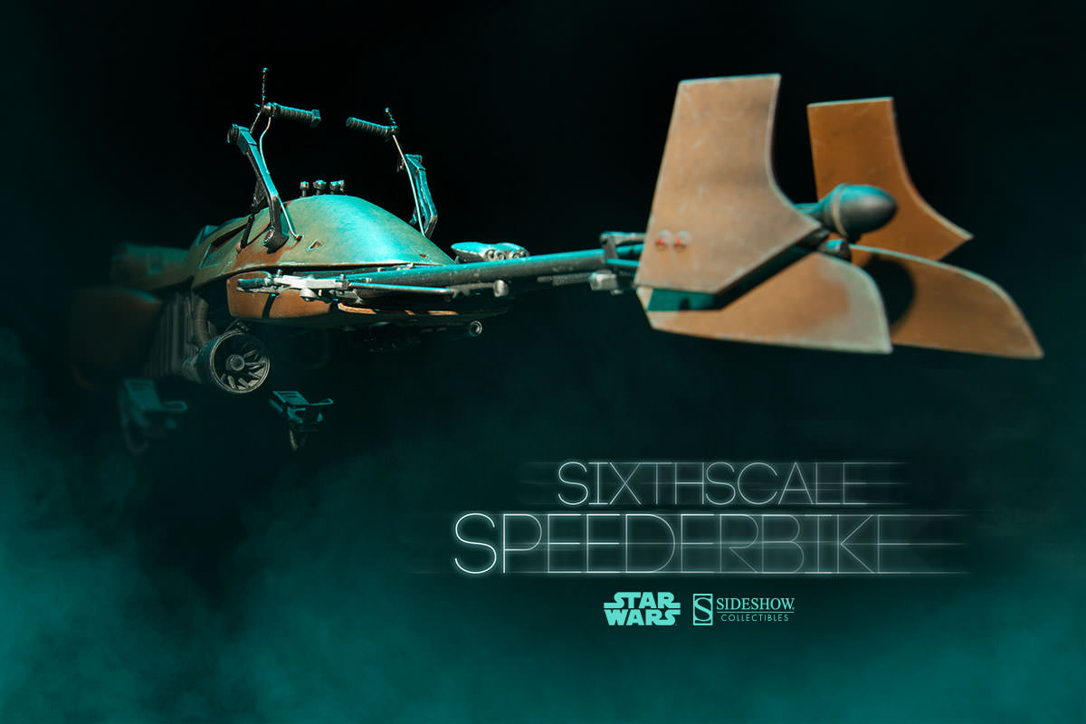 Star Wars Speeder Bike Sixth Scale Sideshow Collectibles