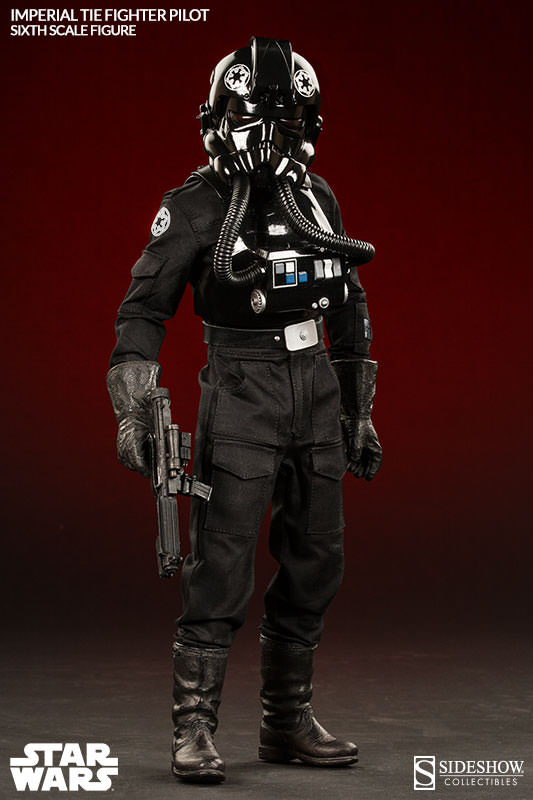 Imperial TIE Fighter Pilot Sixth Scale Figure by Sideshow