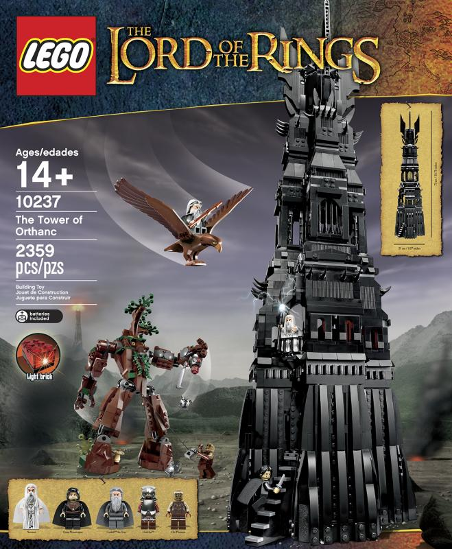 LEGO ® The Lord of the Rings The Tower of Orthanc 10237