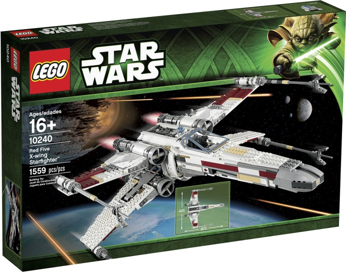 LEGO ® Star Wars Red Five X-wing Starfighter 10240