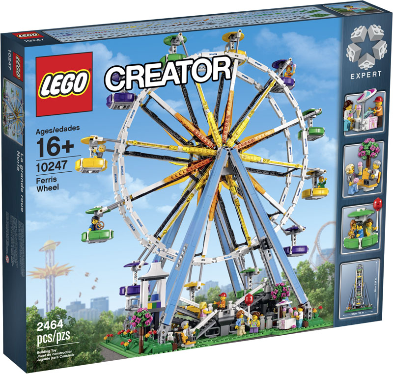 LEGO 10247 Creator Ferris Wheel - Click Image to Close