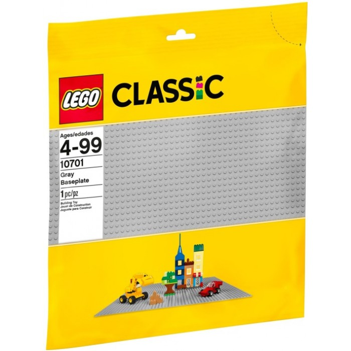 LEGO CLASSIC 10701 Gray Baseplate