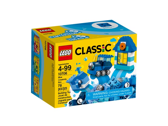 LEGO Classic 10706 Blue Creativity Box