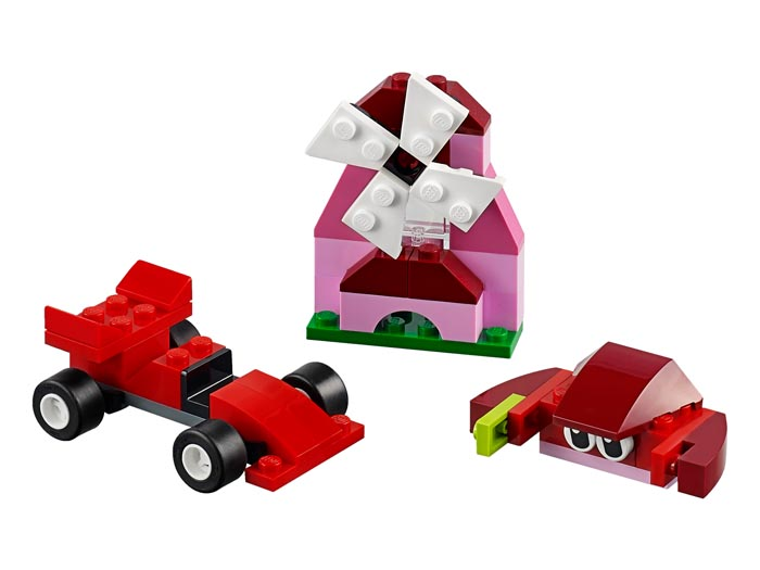 LEGO Classic 10707 Red Creativity Box - Click Image to Close