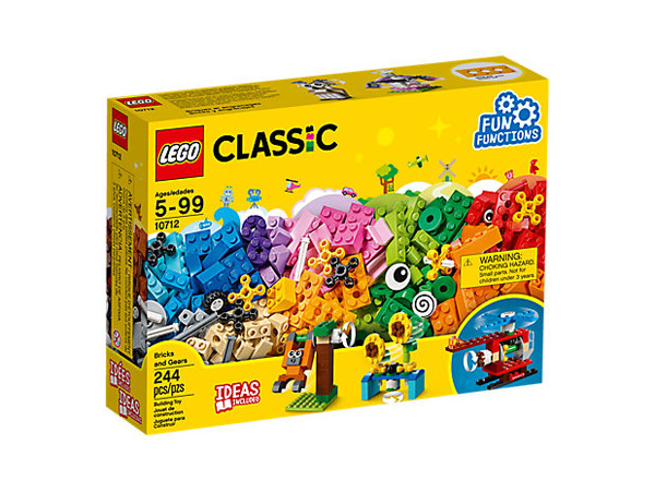 CREATOR 10712 Bricks and Gears