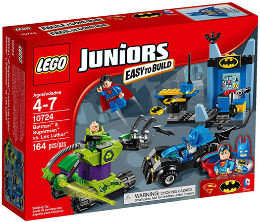 LEGO Juniors 10724 Batman and Superman vs Lex Luthor