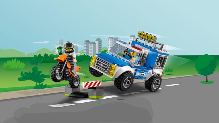 LEGO Juniors 10735 Police Truck Chase