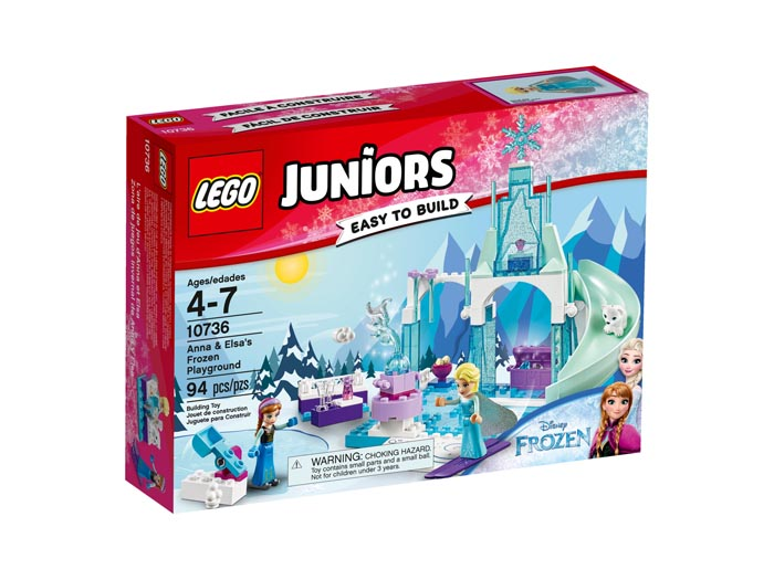 LEGO Juniors 10736 Anna and Elsas Frozen Playground
