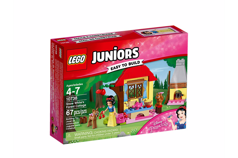 LEGO 10738 Juniors Snow Whites Forest Cottage