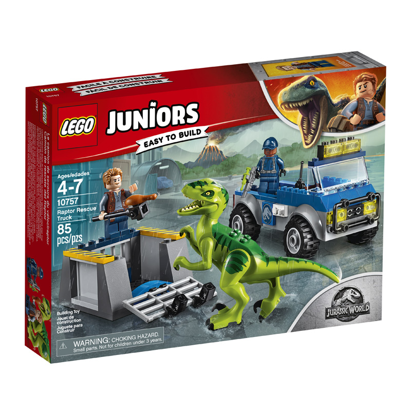 Juniors 10757 Raptor Rescue Truck