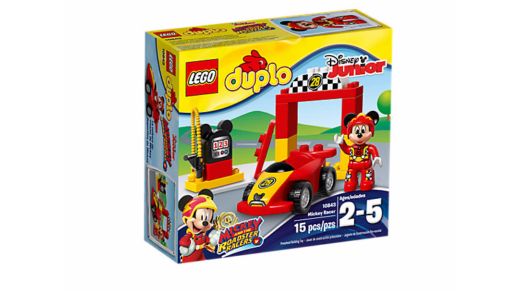 DUPLO 10843 Mickey Racer