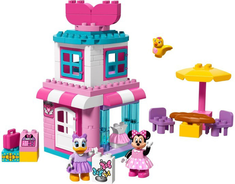 DUPLO 10844 Minnie Mouse Bow tique - Click Image to Close