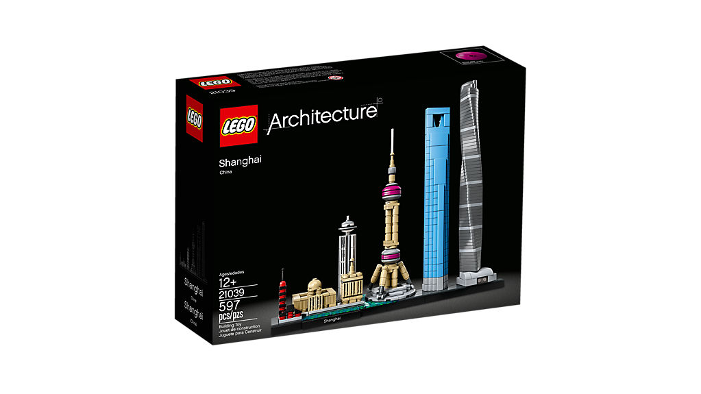 LEGO 21039 Architecture Shanghai - Click Image to Close
