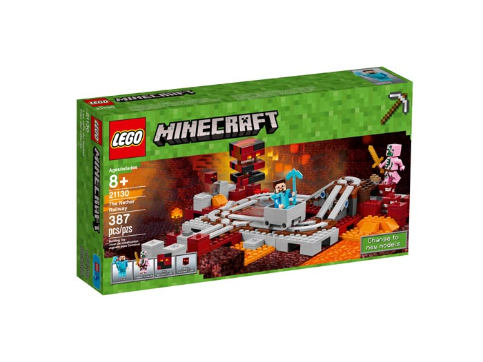 LEGO 21130 Minecraft The Nether Railway
