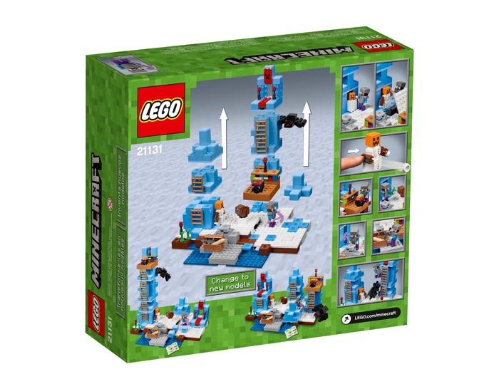 LEGO 21131 Minecraft The Ice Spikes