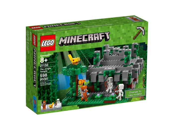 LEGO 21132 Minecraft The Jungle Temple