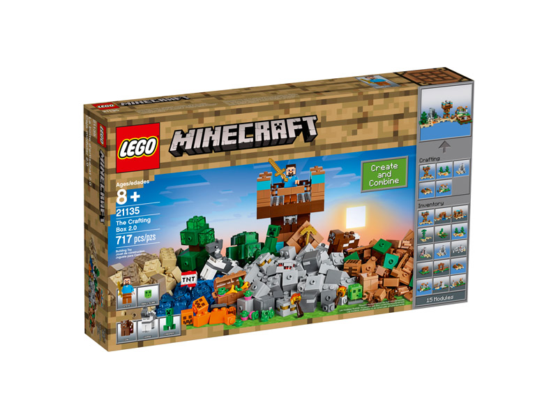 LEGO 21135 Minecraft The Crafting Box 2 0