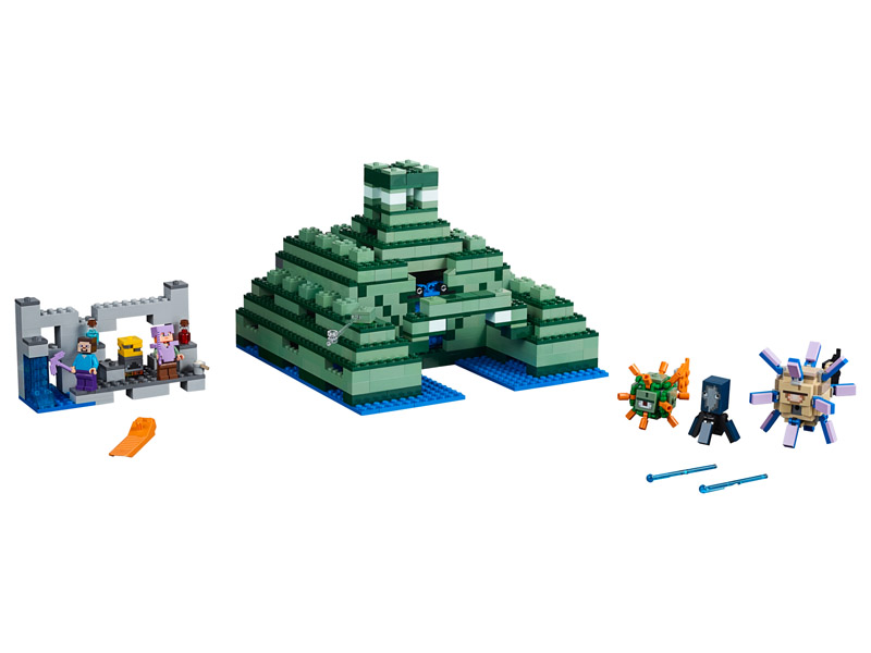 LEGO 21136 Minecraft The Ocean Monument