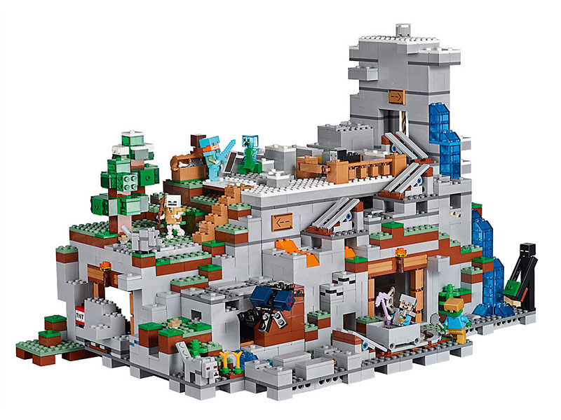 LEGO 21137 Minecraft The Mountain Cave