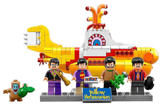 LEGO IDEAS 21306 Yellow Submarine The Beatles