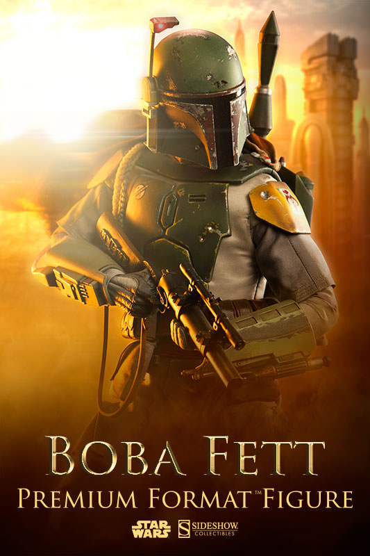 Boba Fett Premium Format Figure by Sideshow Collectibles