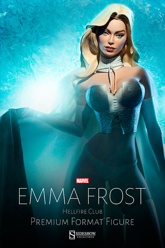 Emma Frost Premium Format Figure by Sideshow Collectibles