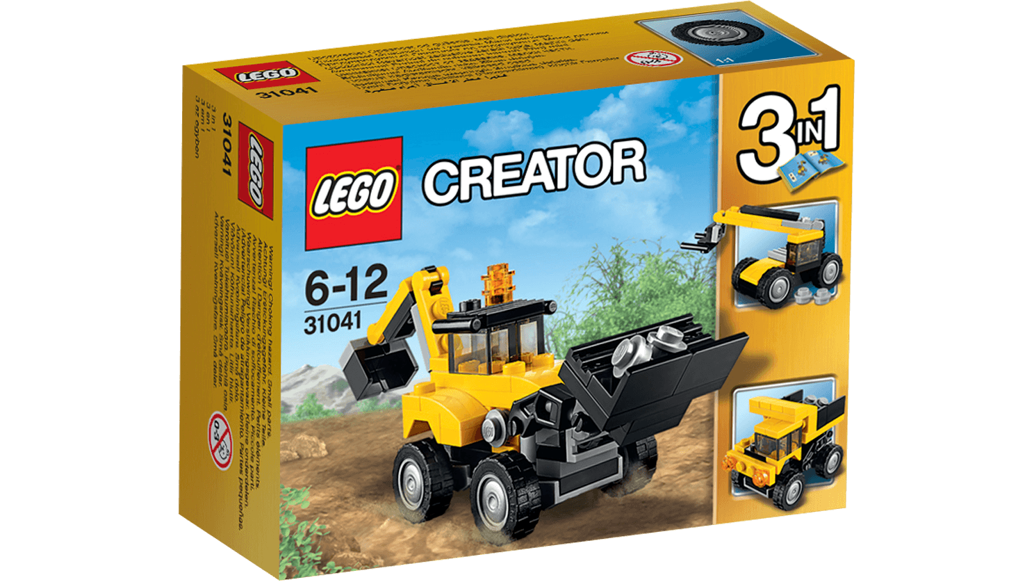 LEGO CREATOR 31041 Construction Vehicles