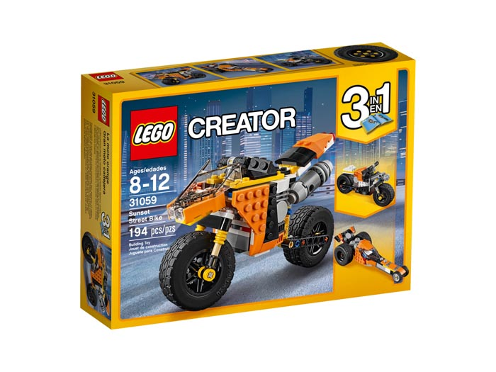 LEGO Creator 31059 Sunset Street Bike