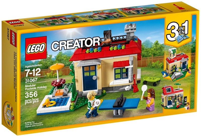 LEGO 31067 Creator Poolside Holiday