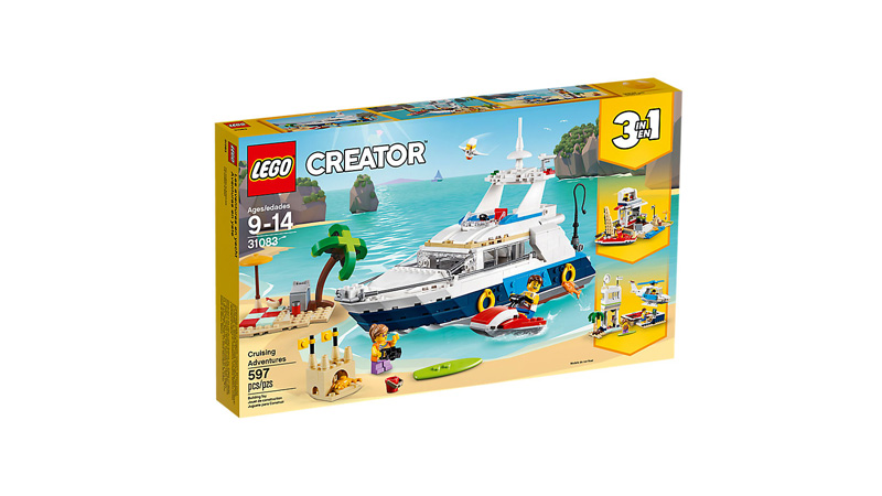 CREATOR 31083 Cruising Adventures