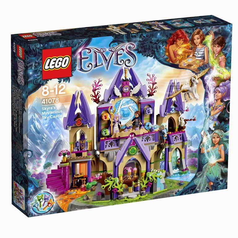 Elves 41078 Skyras Mysterious Sky Castle