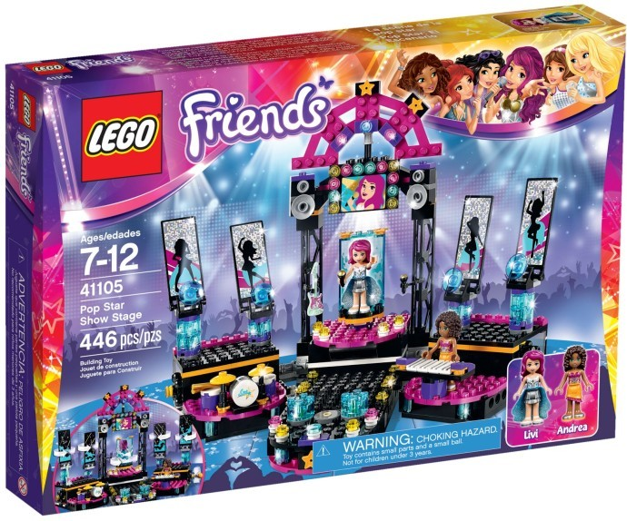 LEGO Friends 41105 Pop Star Show Stag