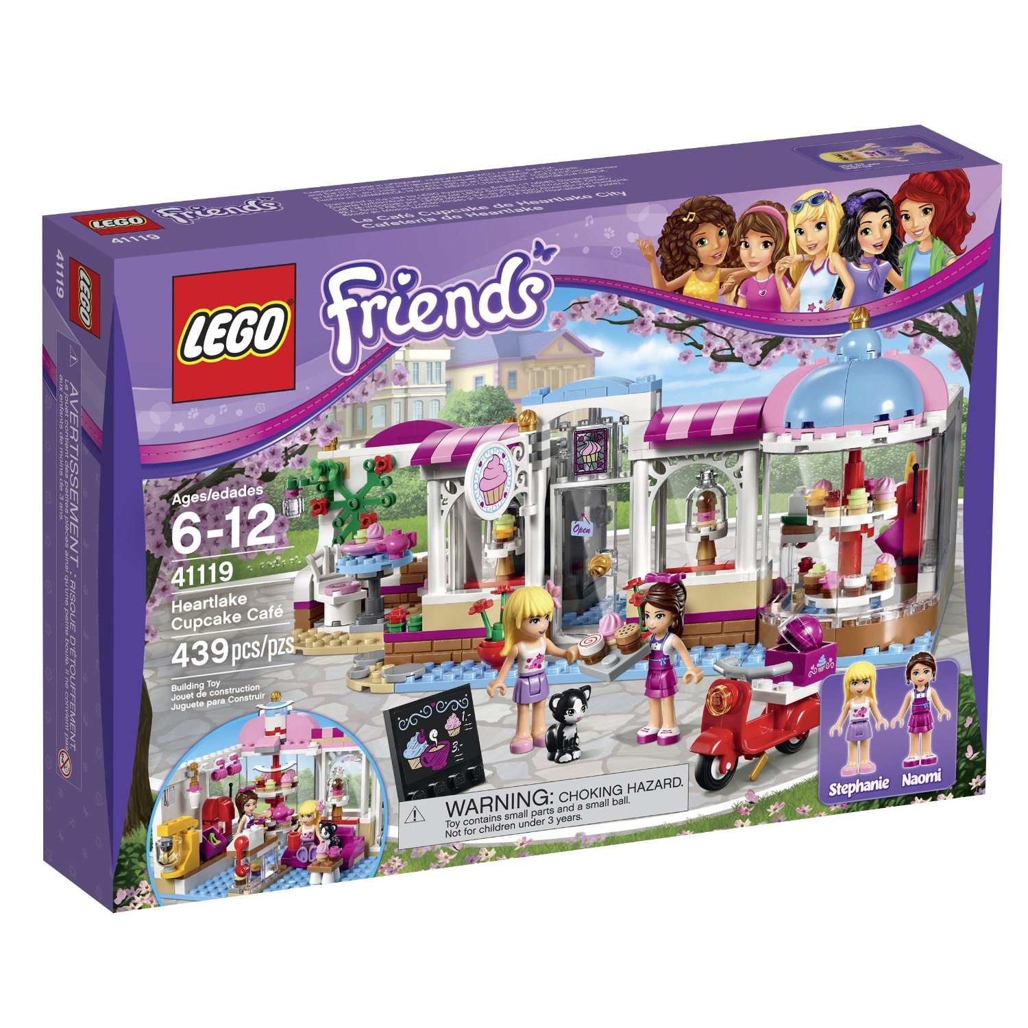 LEGO FRIENDS 41119 Heartlake Cupcake Cafe