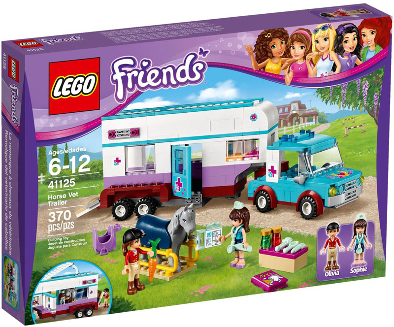 LEGO Friends 41125 Horse Vet Trailer