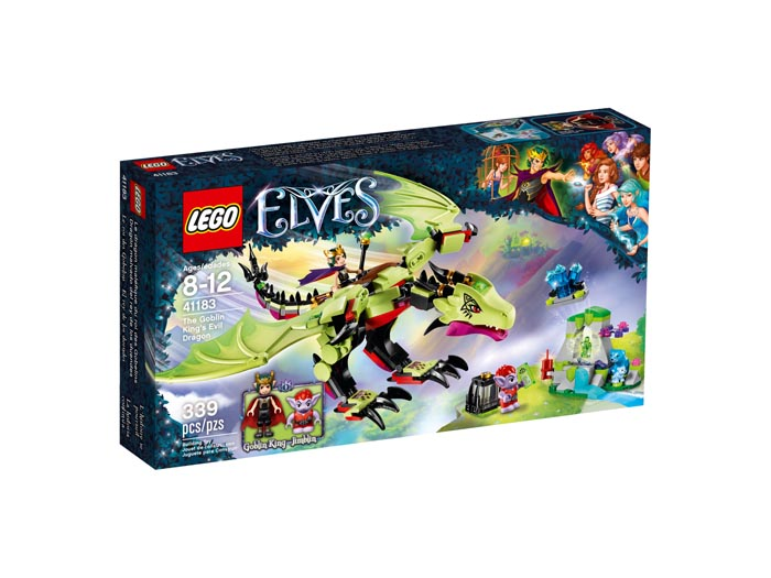 LEGO 41183 Elves The Goblin Kings Evil Dragon
