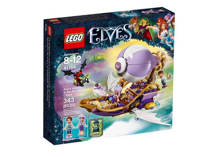 LEGO 41184 Elves Aira's Airship and the Amulet Chase