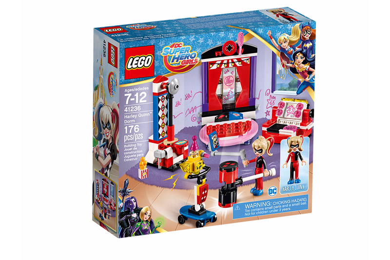 LEGO 41236 DC Super Hero Girls Harley Quinn Dorm