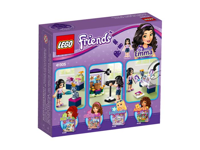 LEGO Friends 41305 Emmas Photo Studio