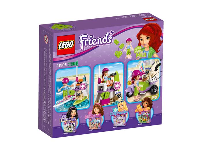 LEGO Friends 41306 Mia's Beach Scooter
