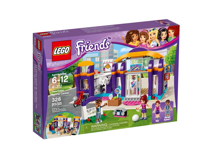 LEGO Friends 41312 Heartlake Sports Centre