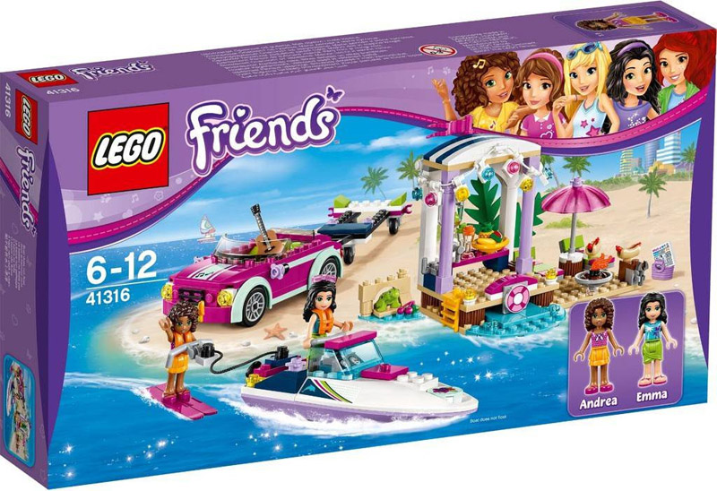 LEGO 41316 Friends Andreas Speedboat Transporter