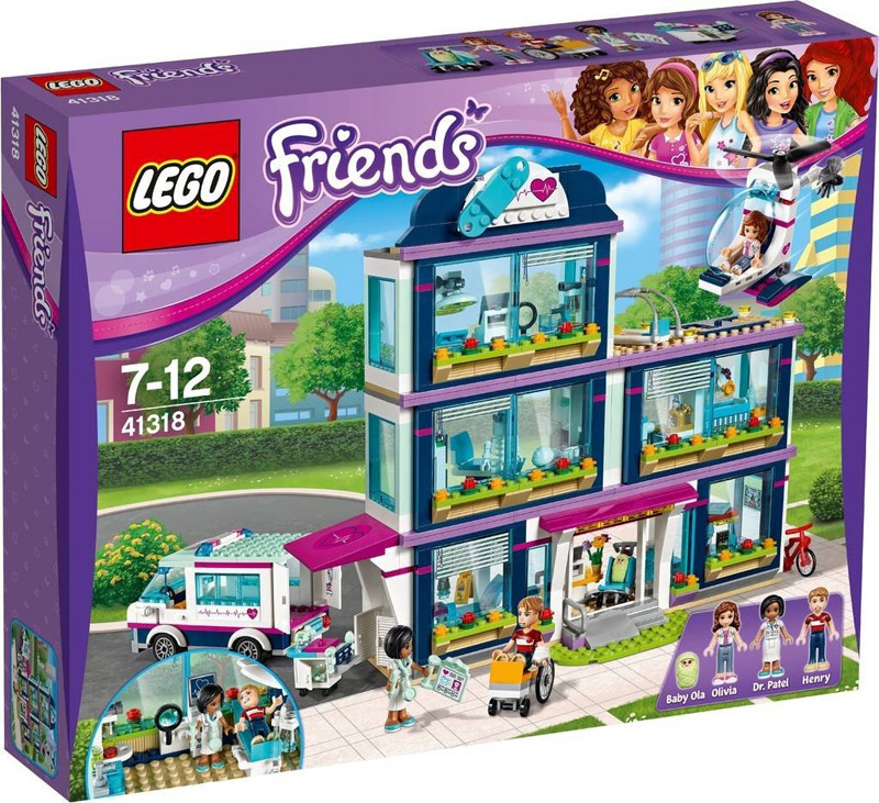 LEGO 41318 Friends Heartlake Hospital