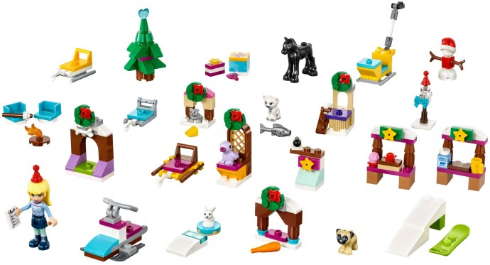 LEGO 41326 Friends Advent Calendar 2017