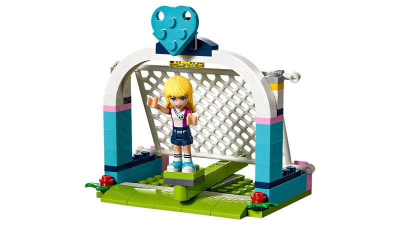 LEGO 41330 Friends Stephanies Soccer Practice - Click Image to Close