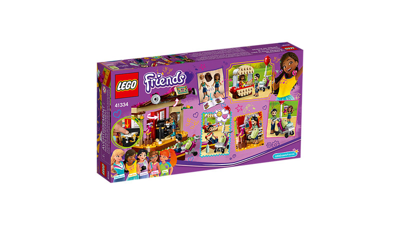 LEGO 41334 Friends Andreas Park Performance - Click Image to Close