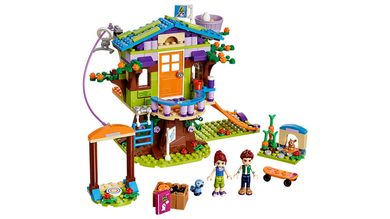 LEGO 41335 Friends Mias Tree House - Click Image to Close