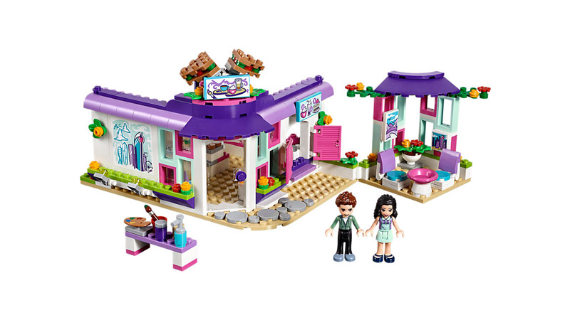 LEGO 41336 Friends Emmas Art Cafe - Click Image to Close