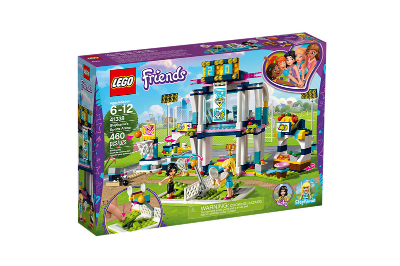 LEGO 41338 Friends Stephanies Sports Arena