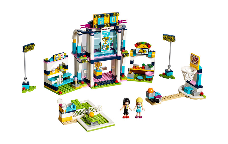 LEGO 41338 Friends Stephanies Sports Arena - Click Image to Close