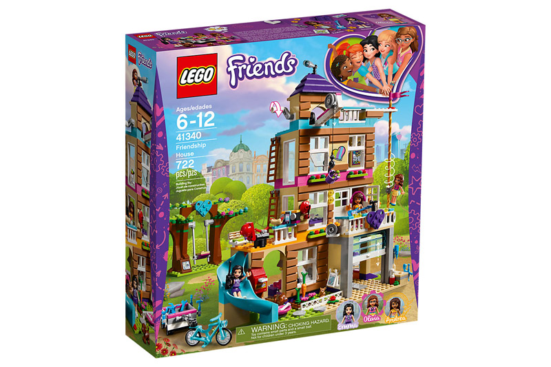 LEGO 41340 Friends Friendship House - Click Image to Close